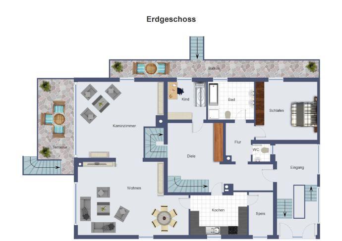 Architektenhaus zum Wohnen und Arbeiten (1)